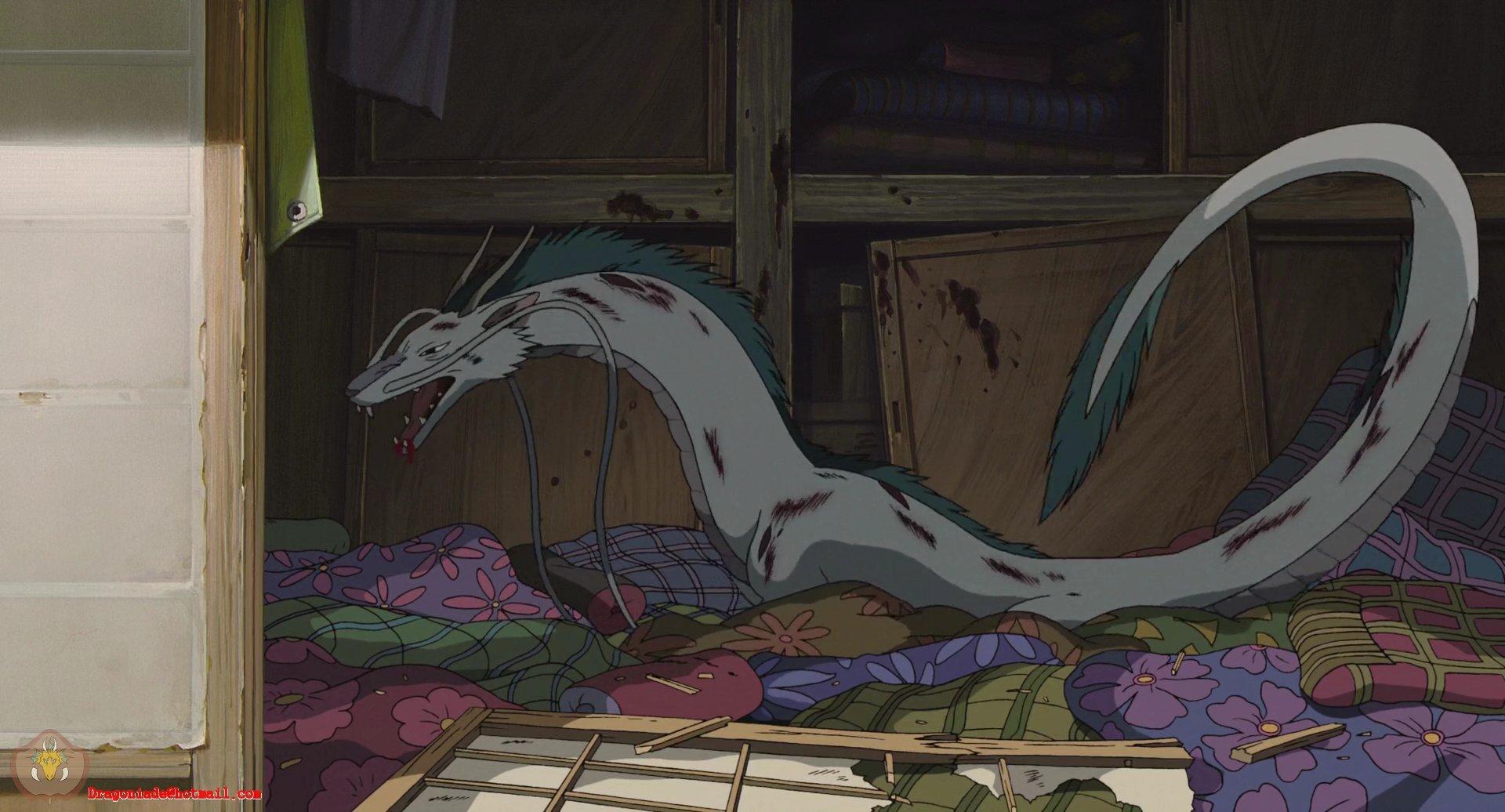 Spirited Away Dragon