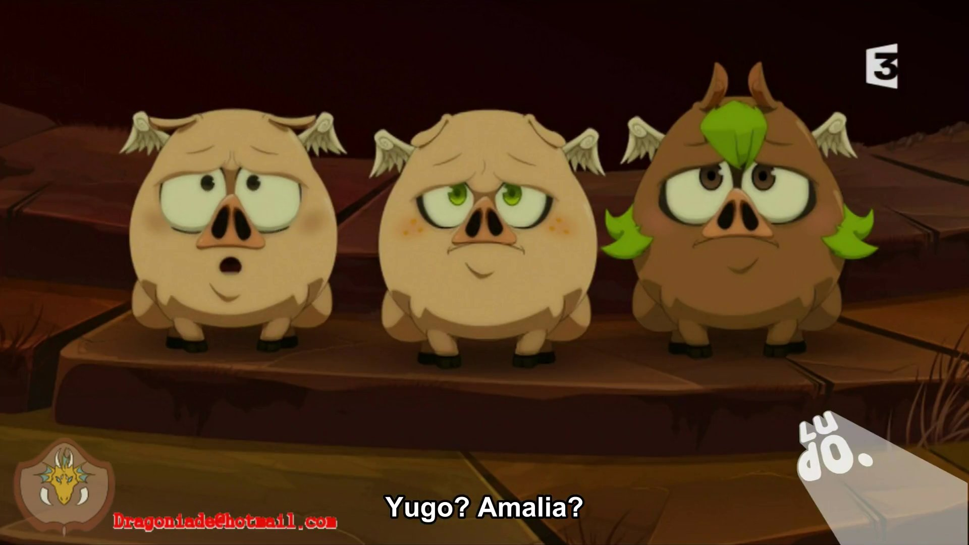 Amalia X Yugo wakfu : animal tf (pig)